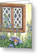 Blue Poppies Of Luss Greeting Card