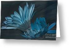 Blue Radiance Greeting Card