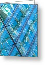 Blue Reflection 3 Greeting Card