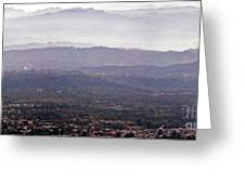 Blue Remembered Hills Greeting Card