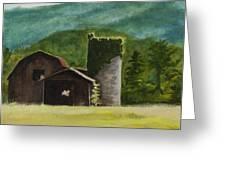 Blue Ridge Barn Greeting Card