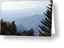 Blue Ridge In The Fall Greeting Card