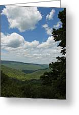 Blue Ridge Mountain Scenic - Craig County Va IIi Greeting Card