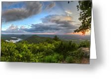Blue Ridge Mountains Panorama Greeting Card