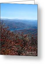 Blue Ridge Parkway IIi Greeting Card