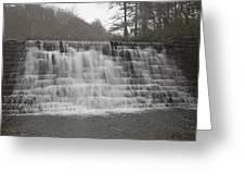 Blue Ridge Parkway Meandering Waters  Greeting Card