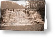 Blue Ridge Parkway Rainy Day Greeting Card