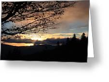 Blue Ridge Parkway Sunrise Greeting Card