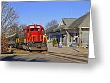 Blue Ridge Scenic Railway Greeting Card