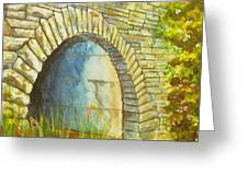 Blue Ridge Tunnel Greeting Card