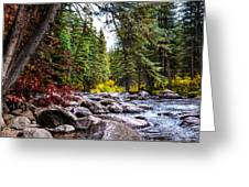 Blue River Greeting Card