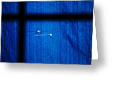 Blue Shade Greeting Card