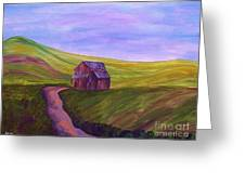 Blue Skies In The Hill Country Greeting Card