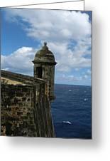 Blue Skies On The Horizon Greeting Card
