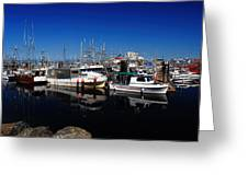Blue Skies Over French Creek Greeting Card