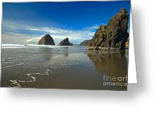 Blue Skies Over Meyers Beach Greeting Card