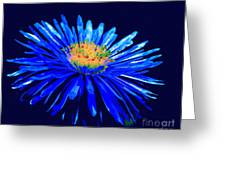 Blue Star 2 Greeting Card