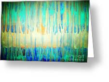 Blue Streams Greeting Card by Dori Meyers
