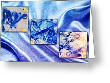 Blue Variations Greeting Card