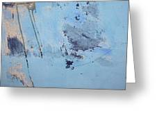 Blue Wall Textures 85 Greeting Card