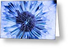 Blue Wish Greeting Card