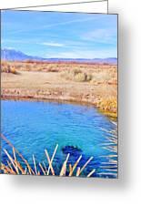 Blue World Greeting Card