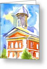 Blueberry Courthouse Greeting Card
