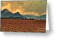 Blueberry Fields Greeting Card