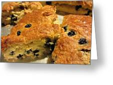 Blueberry Scones - Brunch Greeting Card