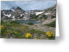 Bluebird Lake - Colorado Greeting Card