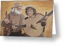 Bluegrass Music Greeting Card