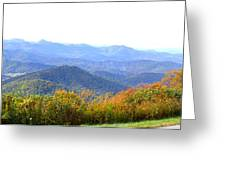 Blueridge Parkway Mm404 Greeting Card