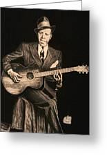 Blues Originator  Greeting Card