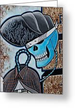 Blueskully Greeting Card