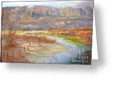 Bluff Canyon Overlook Greeting Card