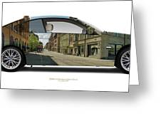 Bmw 335i Queen Street Greeting Card