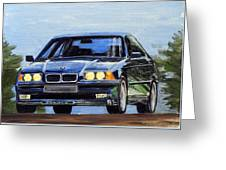Bmw E36 Greeting Card