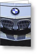 Bmw Grille Greeting Card
