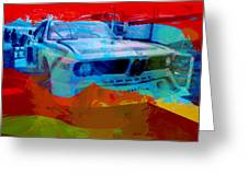 Bmw Laguna Seca Greeting Card by Naxart Studio