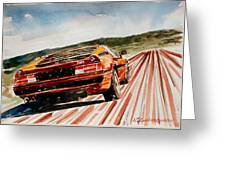 Bmw M1 Greeting Card