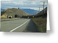 Bnsf Train 789 C Greeting Card