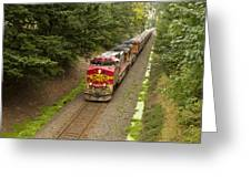 Bnsf Train 789 D Greeting Card