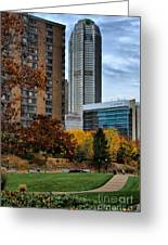 Bny Mellon From Duquesne University Campus Hdr Greeting Card