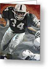 Bo Jackson Greeting Card