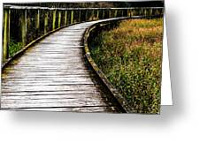 Boardwalk 03 Greeting Card
