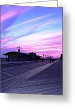 Boardwalk Stroll  Greeting Card