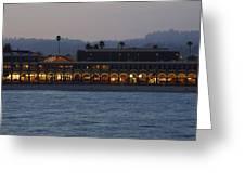 Boardwalk Sunset Greeting Card