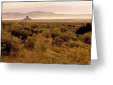 Boar's Tooth Wyoming Greeting Card