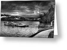 Boat Dock At Sperry Chalet 2 Greeting Card