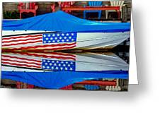 Boat For Freedom  Greeting Card